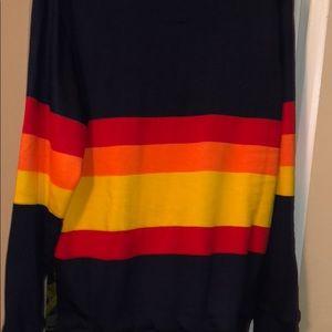 cheaper 83a8e e7a75 1986 authentic Astros sweater NWT